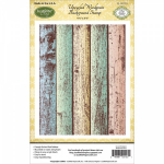 Just Right Papercraft - Upcycle Woodgrain Background Stamp