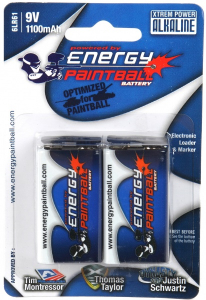 Bilde av Energy Paintball - 9V Batteri - 2pk