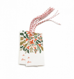 Bilde av Winter berries tags Rifle Paper Co