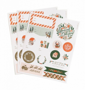 Bilde av Holiday stickers/klistremerker Rifle Paper Co