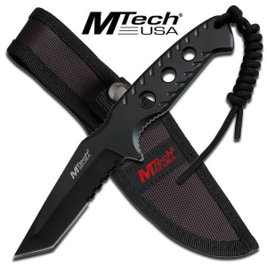 Bilde av M-Tech Tactical Tanto Knife - Black